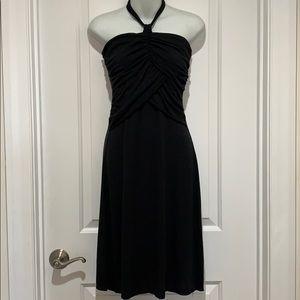 Black Halter Dress LBD